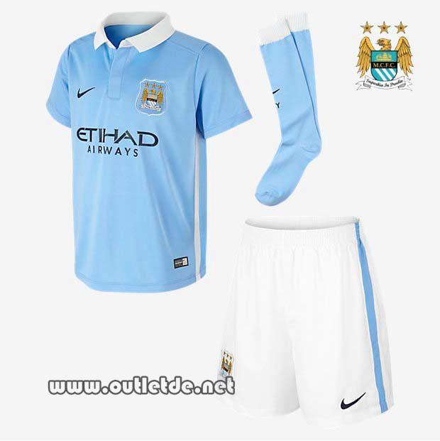 tenue de foot Manchester City pas cher