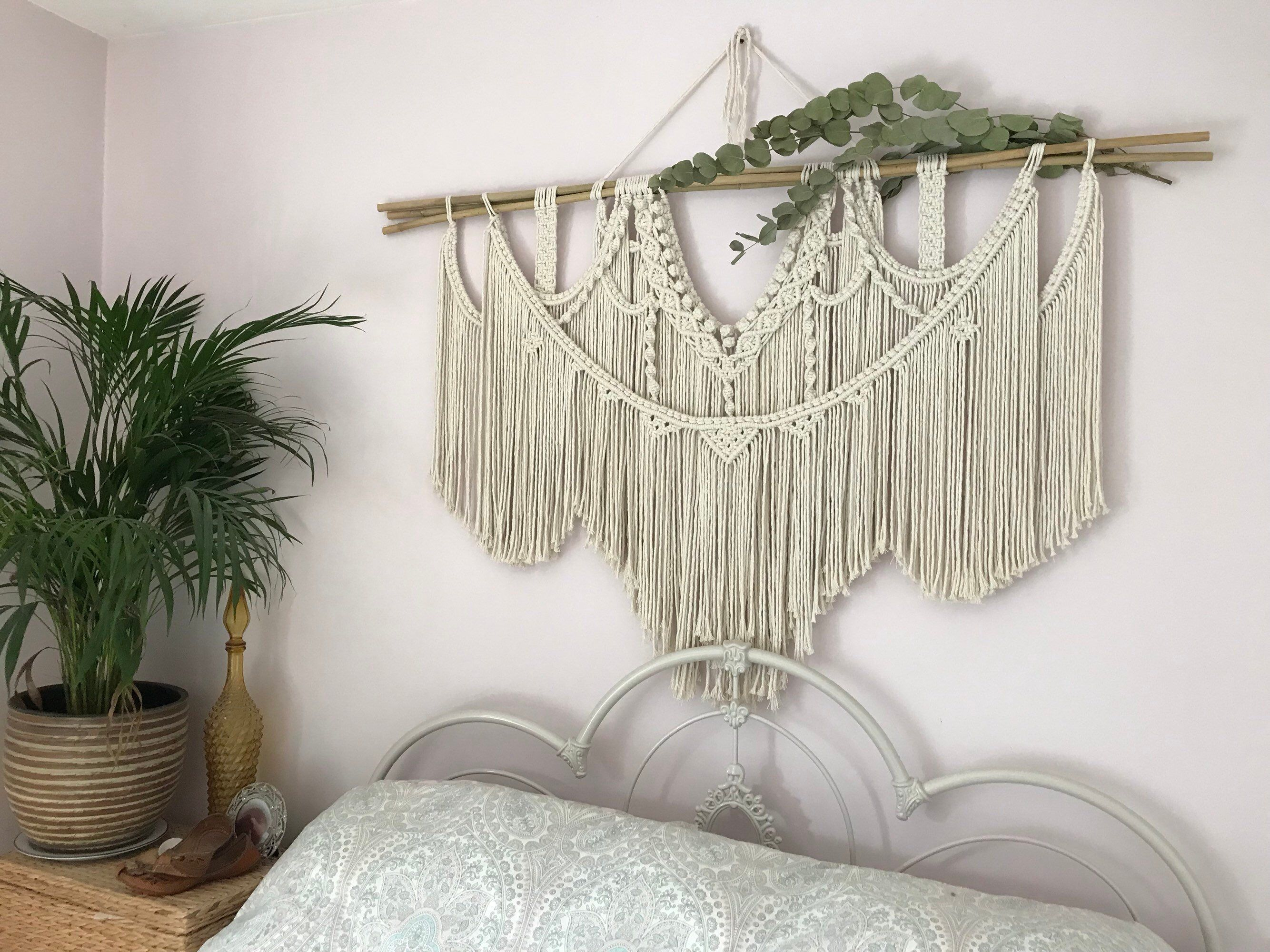 Excited to share this item from my etsy shop large macrame wall hanging housewares homedecor macrame wedding wallart fibreart macramebackdrop