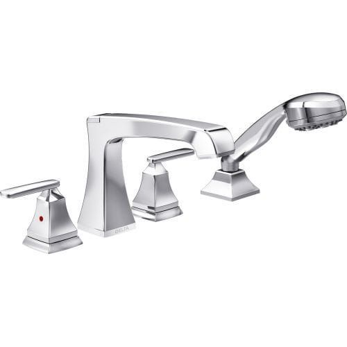 Delta T4764 Ashlyn Roman Tub Faucet with Multi-Function Hand Shower ...