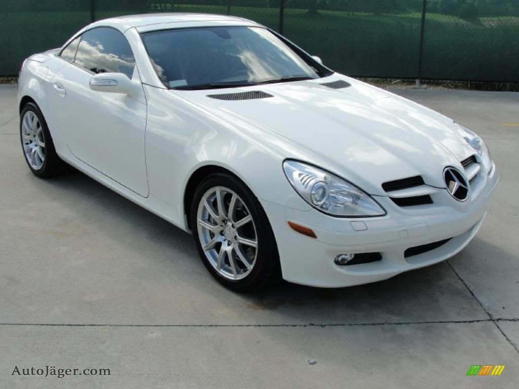 2006 Mercedes Benz Slk 350 Roadster In Alabaster White With