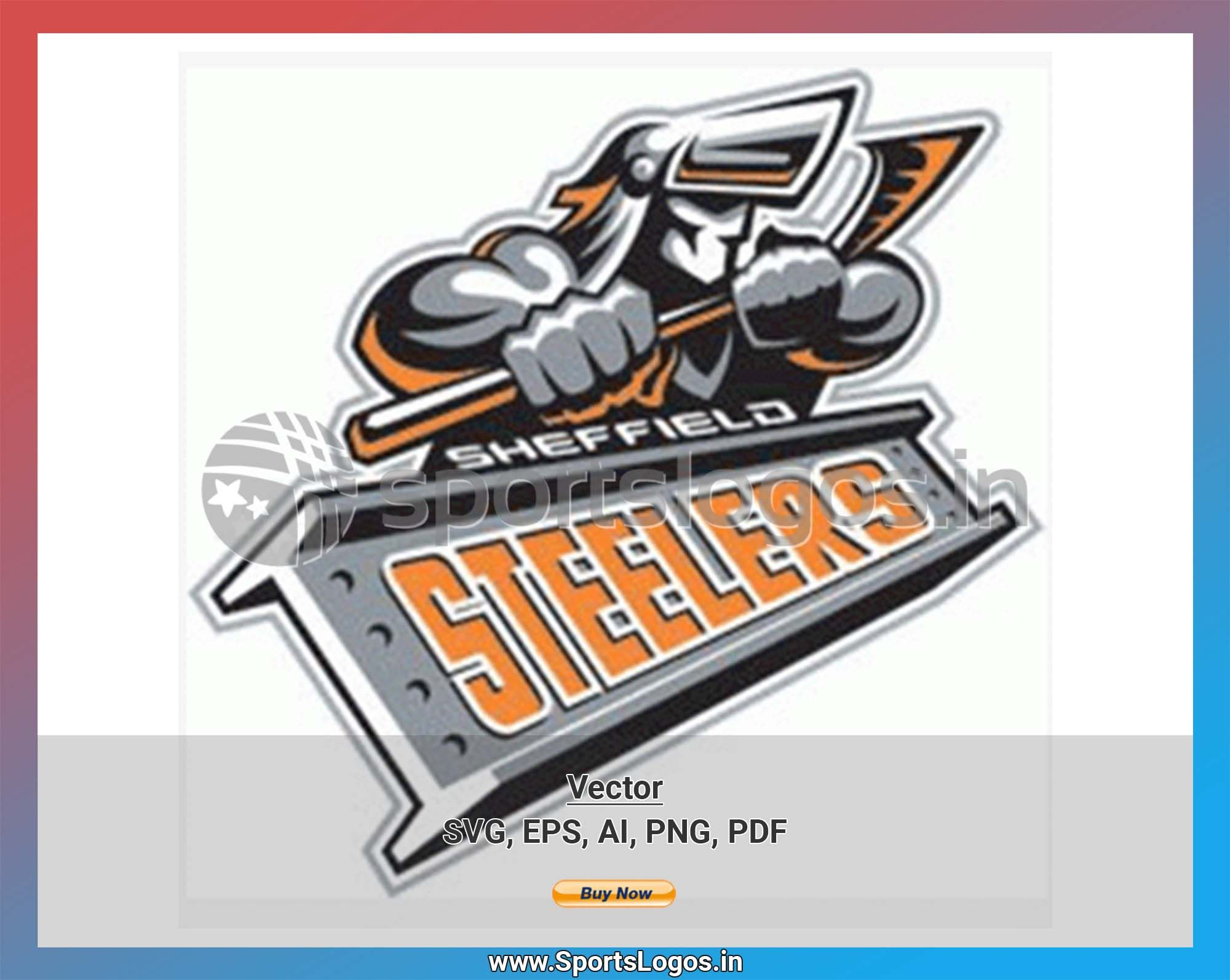 Sheffield Steelers Hockey Sports Vector Svg Logo In 5 Formats Spln003983 Sports Logos Embroidery Vector For Nfl Nba Nhl Mlb Milb And More Sheffield Steelers Sport Hockey Steelers