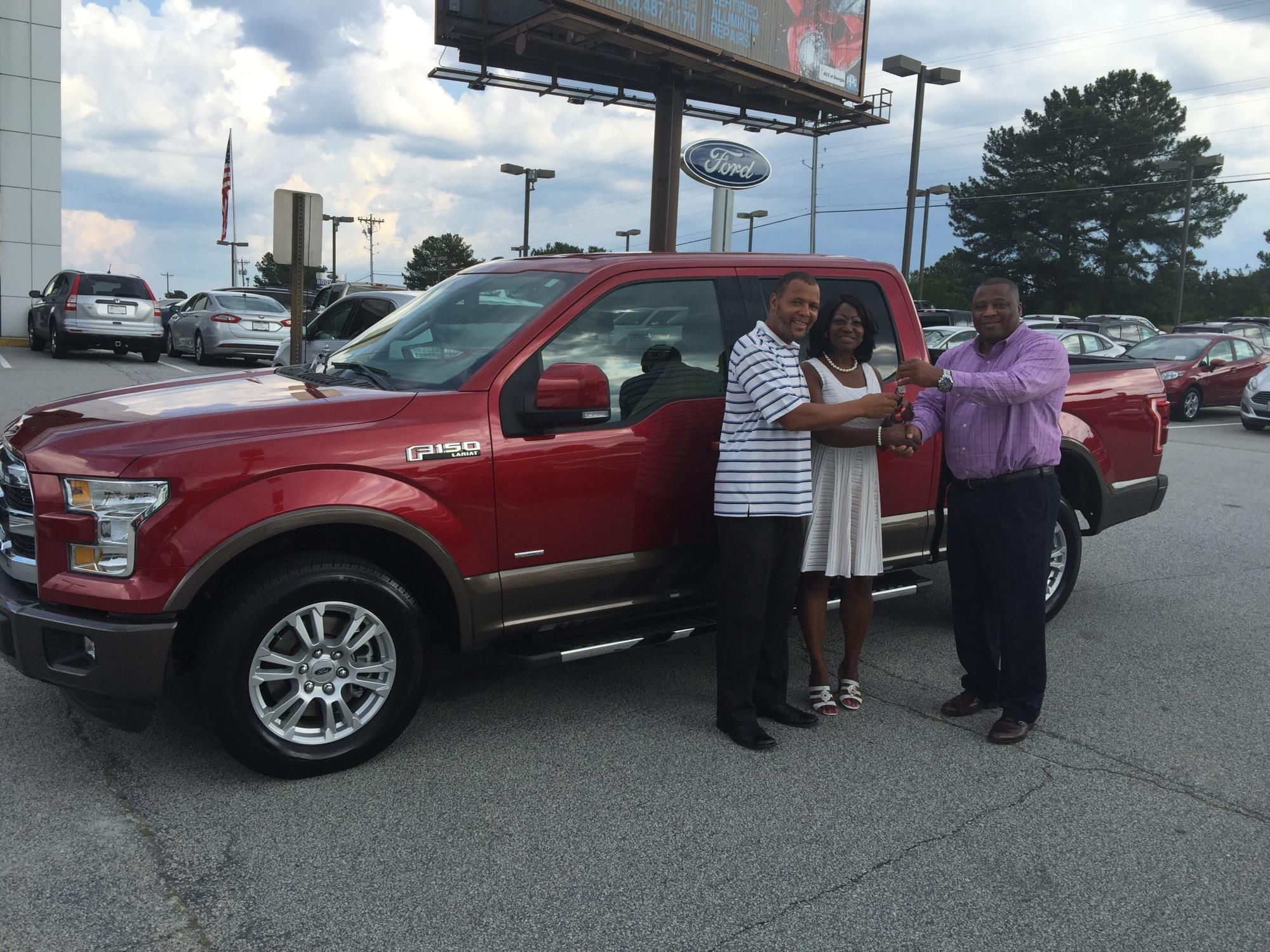Jerome Henderson Reviews The 2015 Ford F 150 He Purchased From Courtesy Ford In Conyers Ga Ford F150 Ford Car Ford