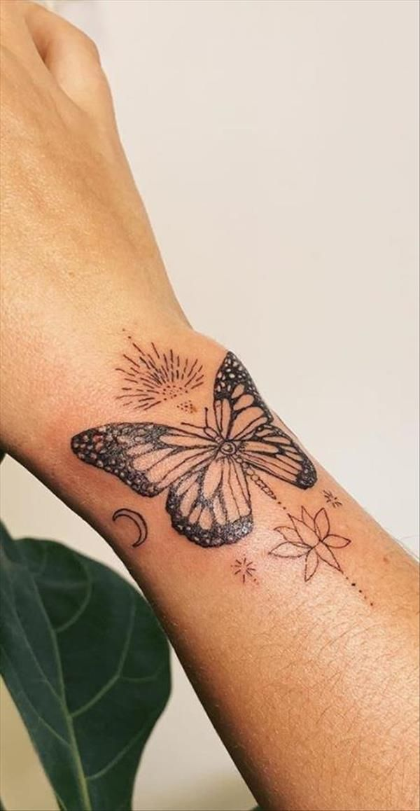 43 Unique styles of female butterfly tattoos - Cozy living to a beautiful lifestyle
