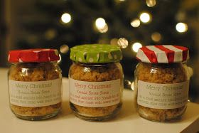 Feathers in Our Nest: Easy Last Minute Christmas Gift: Vanilla Sugar Scrub
