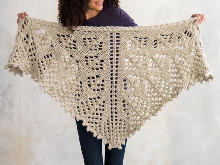 Wild Prairie Lace Shawl Knitting Kit Knitting Pinterest Shawl
