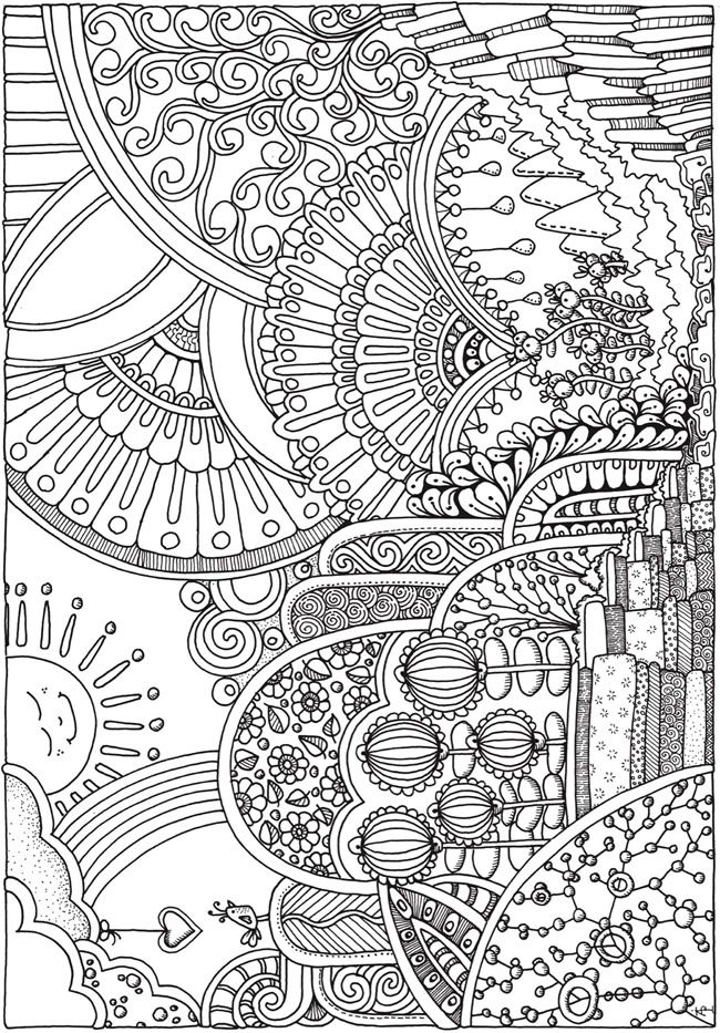 Pin de Christine Lanthier en coloring | Pinterest | Pinturas