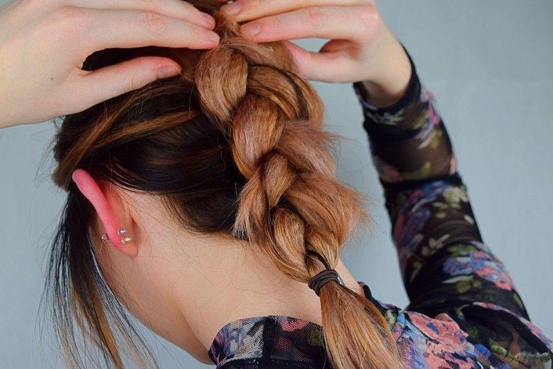 Haare kreppen: Einfache Flechtfrisur mit GHD | My Beauty Posts ...