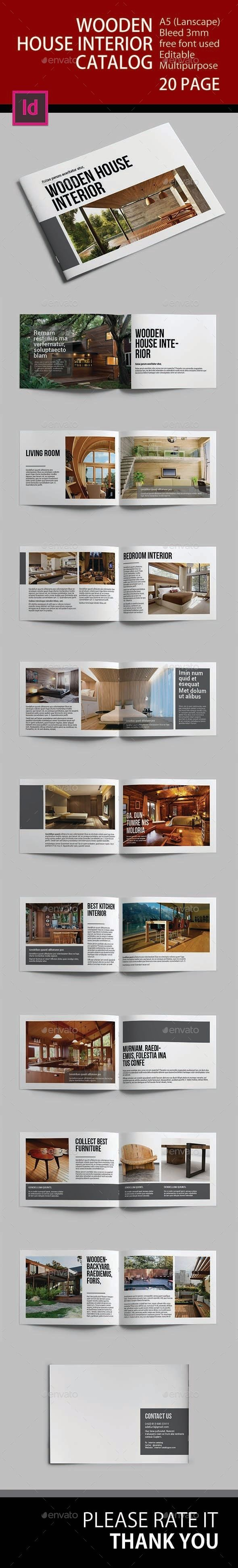 Design Portfolios House Interior Catalog Brochure