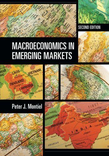 Macroeconomics in Emerging Markets by Peter J  Montiel   Economics