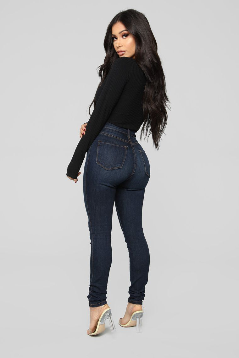 Janet Ribbed Button Bodysuit Black Fashion Nova Outfits Best Jeans For Women Body Suit Outfits