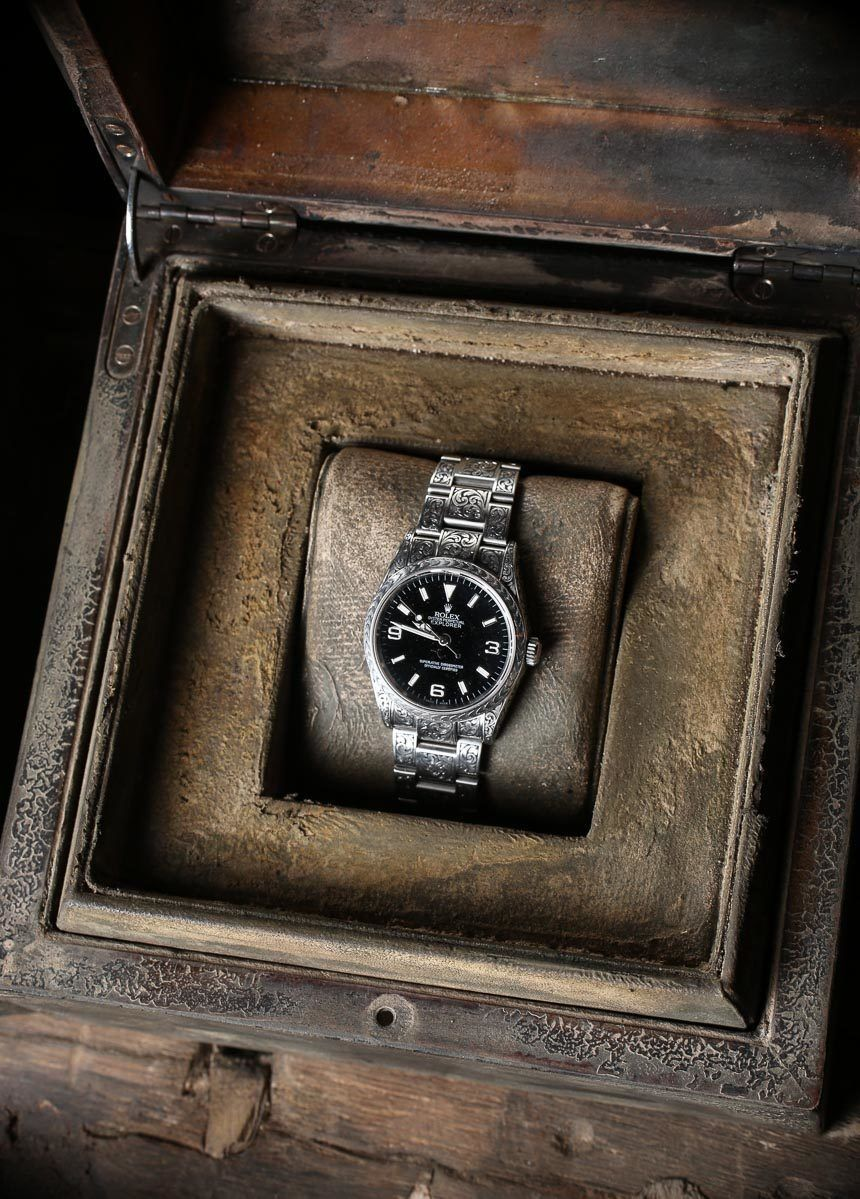 MadeWorn American Hand-Engraved Rolex Watches Hands-On | aBlogtoWatch