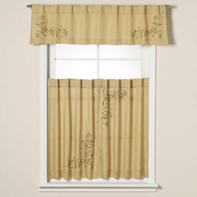 Kitchen Curtains At Sears | Scroll Leaf Window Curtain Tiers Bedbathandbeyond Com Kitchen