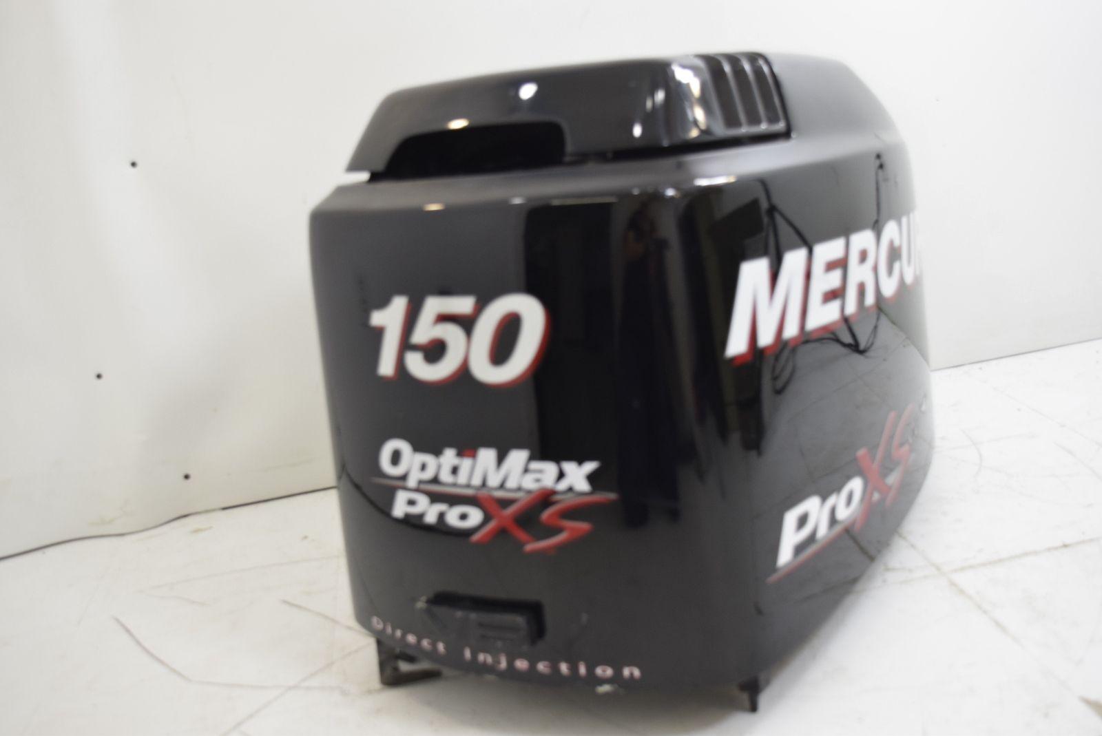 Pin mercury optimax pro xs hood top cowling cover 150 175 hp v6