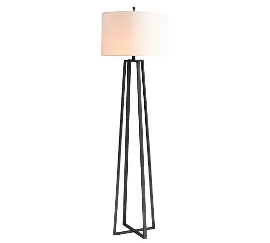 Carter Metal Floor Lamp Lamp Floor Lamp Metal Floor Lamps