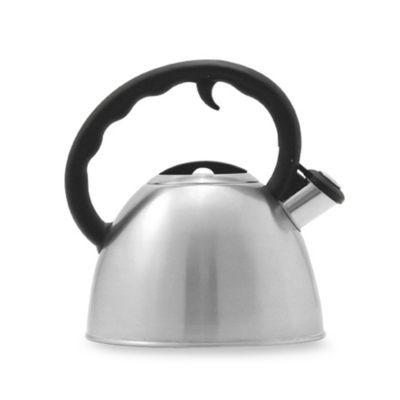 Remedy Metro 1 5 Quart Brushed Stainless Steel Tea Kettle Brushed Stainless Steel Kettle Ceramic Teapots