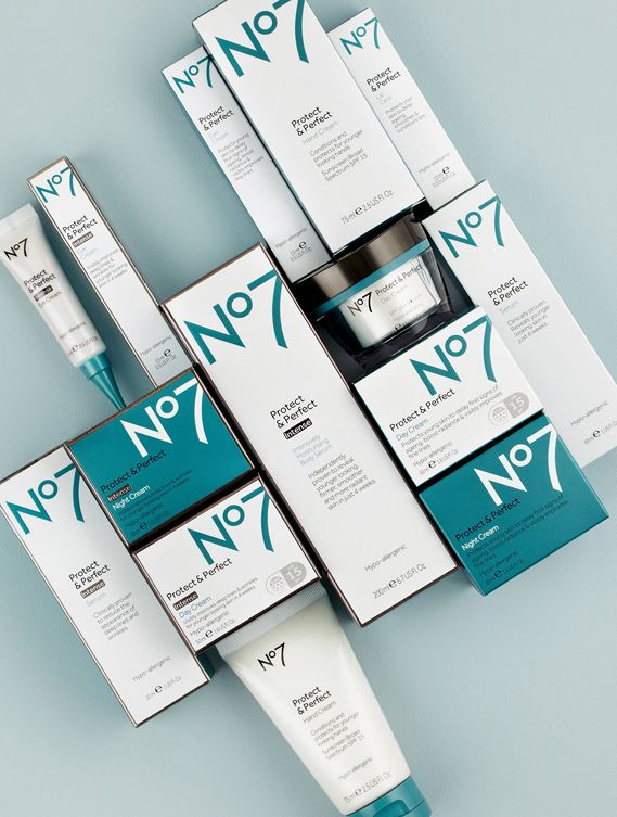 Boots No7 Brand Gets A Makeover Creative Review No7 Beauty Skin Beauty Packaging