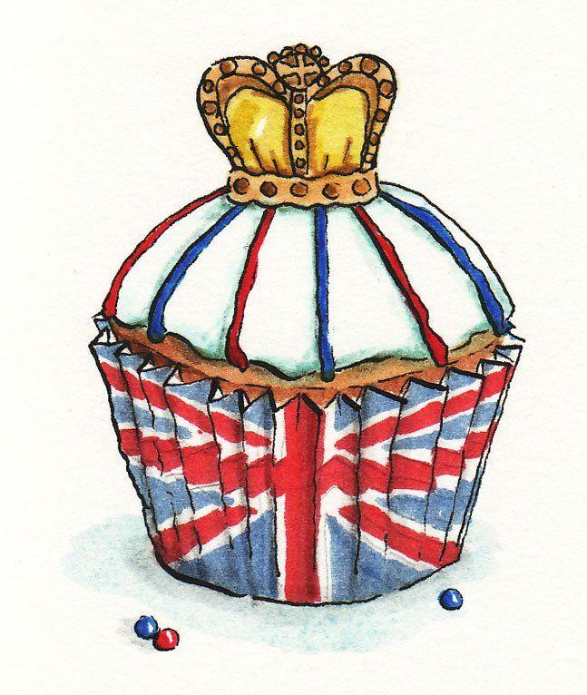 England Cupcake