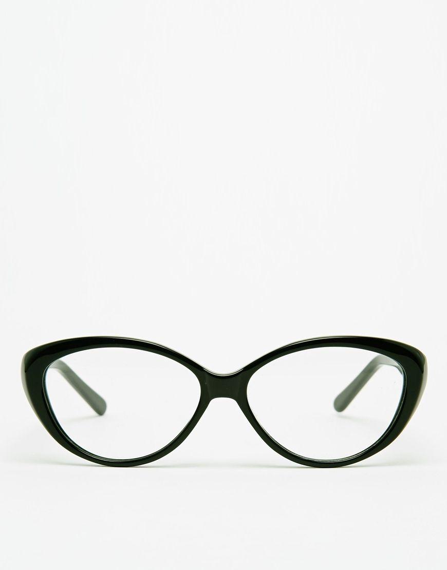 AJ Morgan Kiss Cat-Eye Glasses