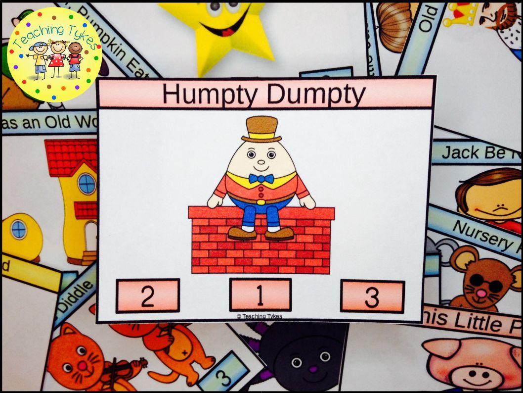 Humpty Dumpty Task Cards