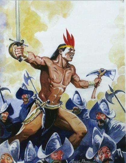 Gran Cacique Guaicaipuro Casique Oraciones Espiritismo Y Indigenas