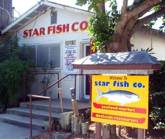 Star Fish Company Dockside Restaurant Cortez Fl