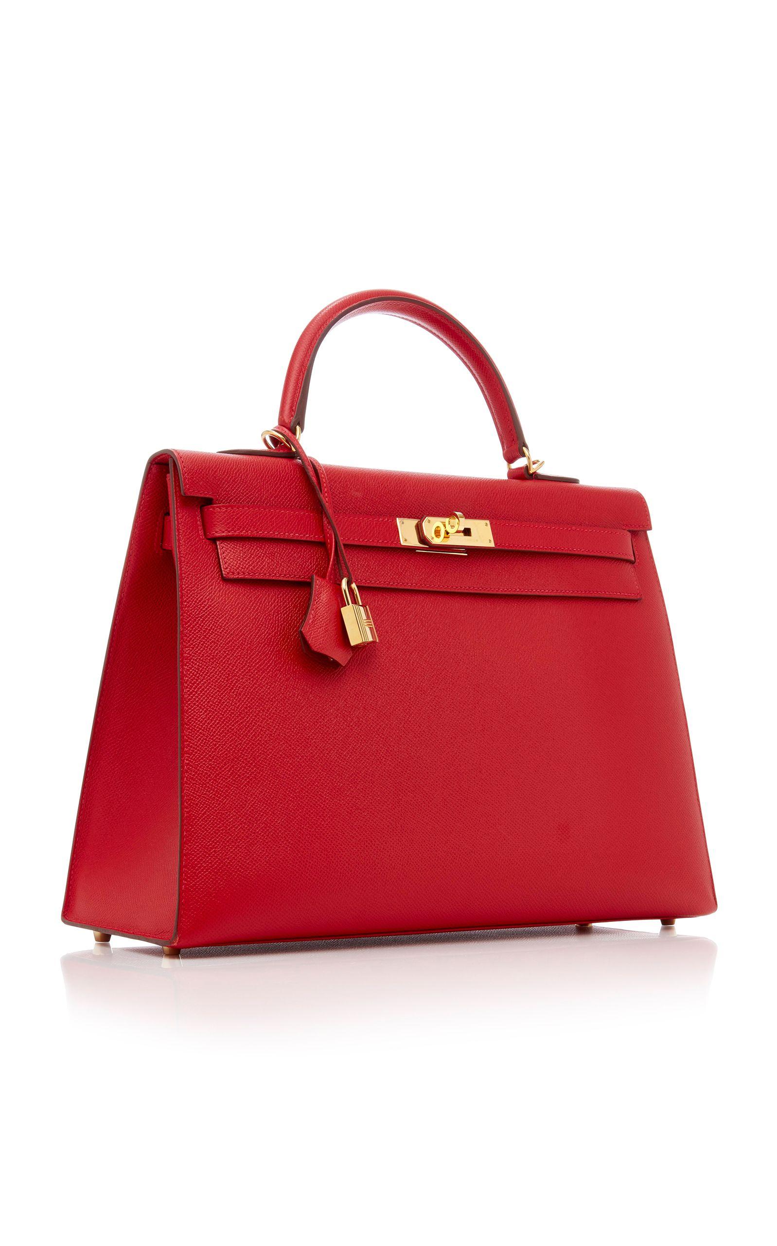 d5d6967fb0 Hermes 35Cm Rouge Casaques Epsom Leather Kelly | bags | Bags, Hermes ...