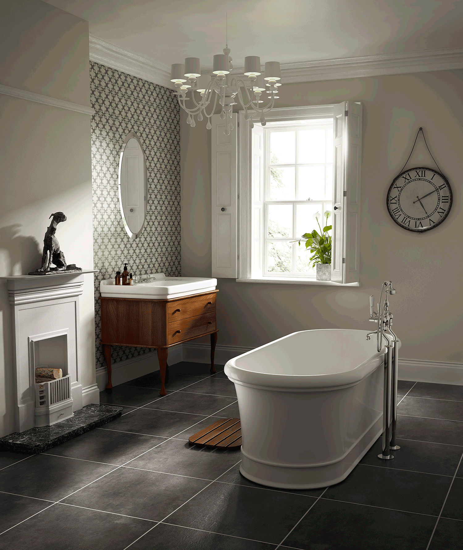 London Freestanding Bath in 2020 | Traditional bathroom ...