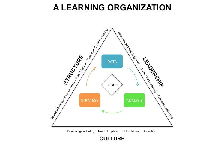 This Learning Organization framework is how