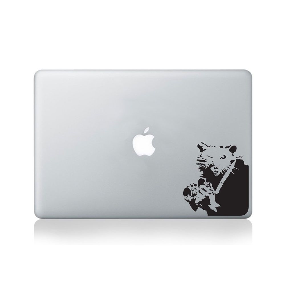 Banksy Rat Photographer Vinyl Decal For Macbook Laptop Or - Vinyl decals for macbook