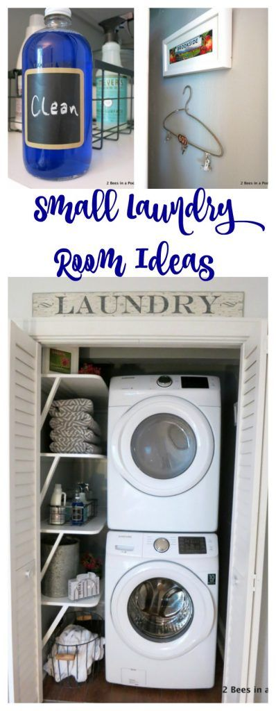 Small Laundry Room Ideas. Laundry Closet. Laundry Room Shelves. Laundry  Sign.
