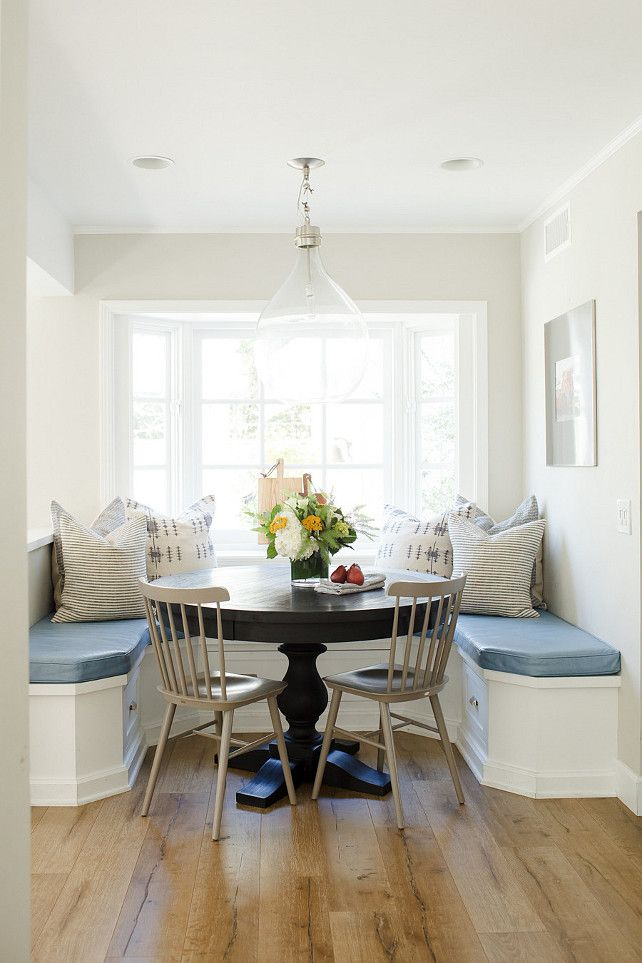 banquette breakfast nook breakfast nook with banquette pillows and rh pinterest com