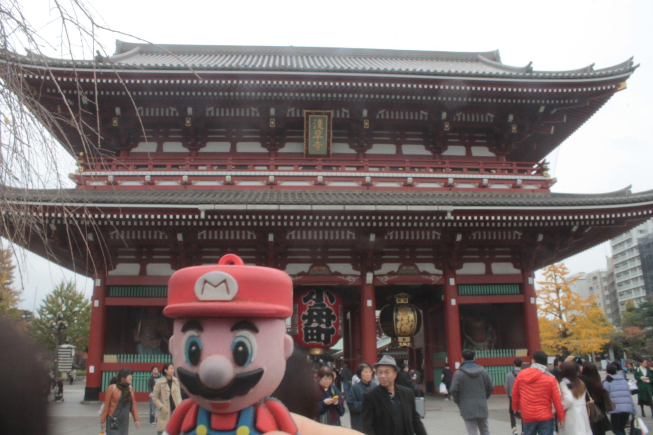 En el Templo Senso-ji en Tokio