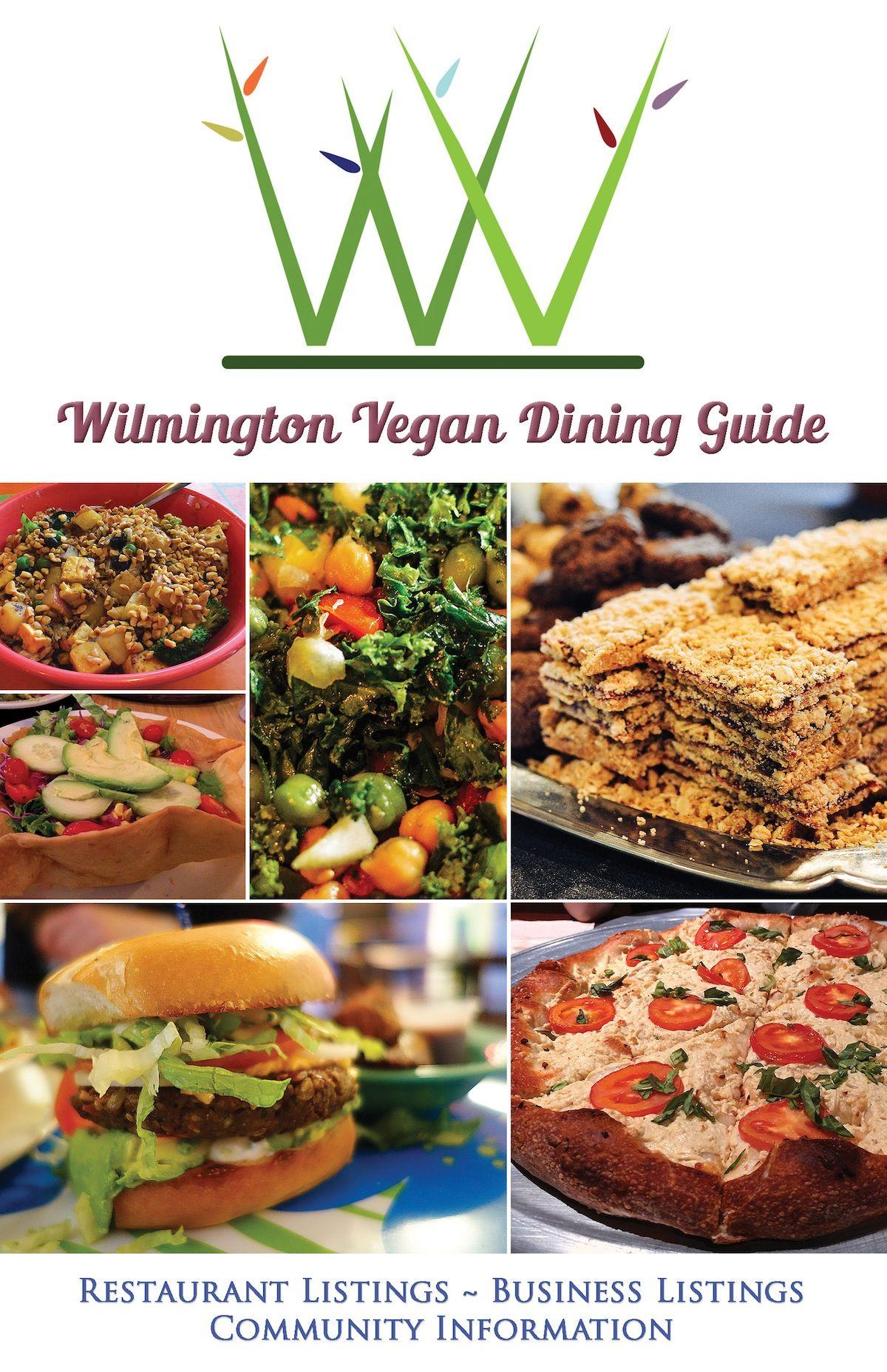 Wilmington Vegan Dining Guide Cover Art April 2017