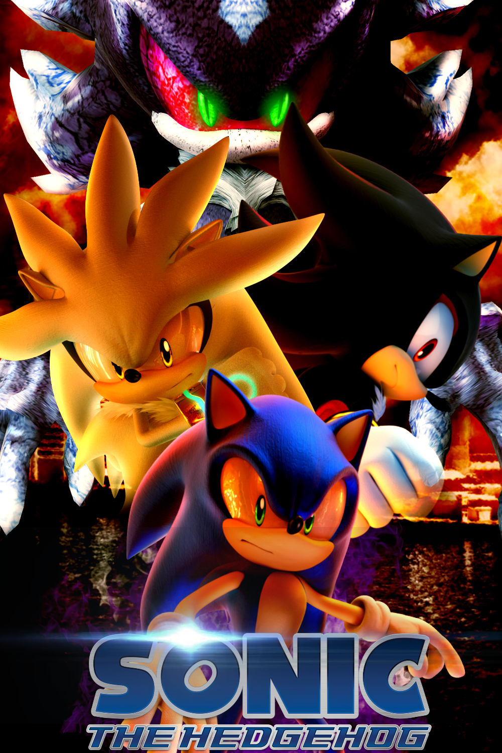 Sonic 2006 Flames Of Disaster Personagens Herois Desenho