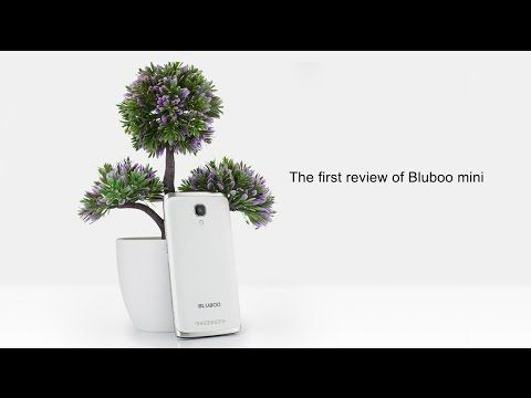 Bluboo Mini Global Pre-Sale for $6.99 and its Unboxing Video