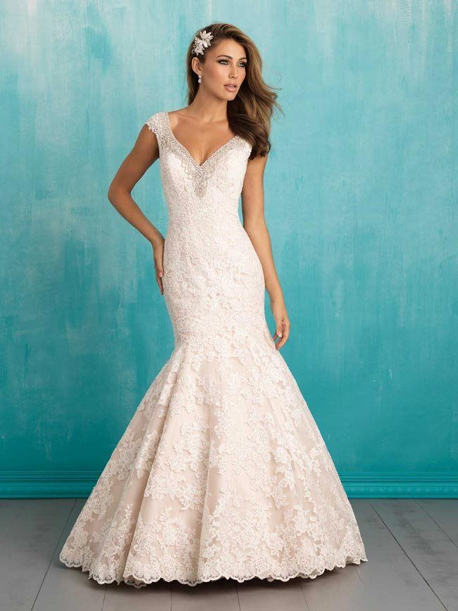 Fishtail wedding dresses from Allure | Beautiful Wedding Dresses and ...