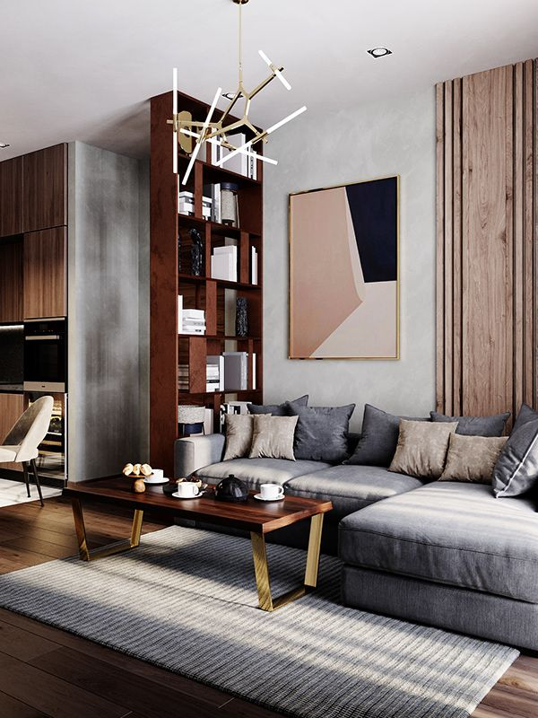 Autodesk Room Design: Apartament In Moscow, Russia On Behance (With Images