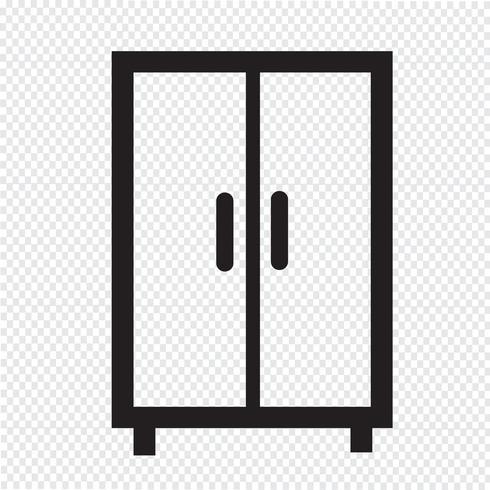 Wardrobe Icon Symbol Sign Vector Icons Free Logo Design Inspiration Branding Icon