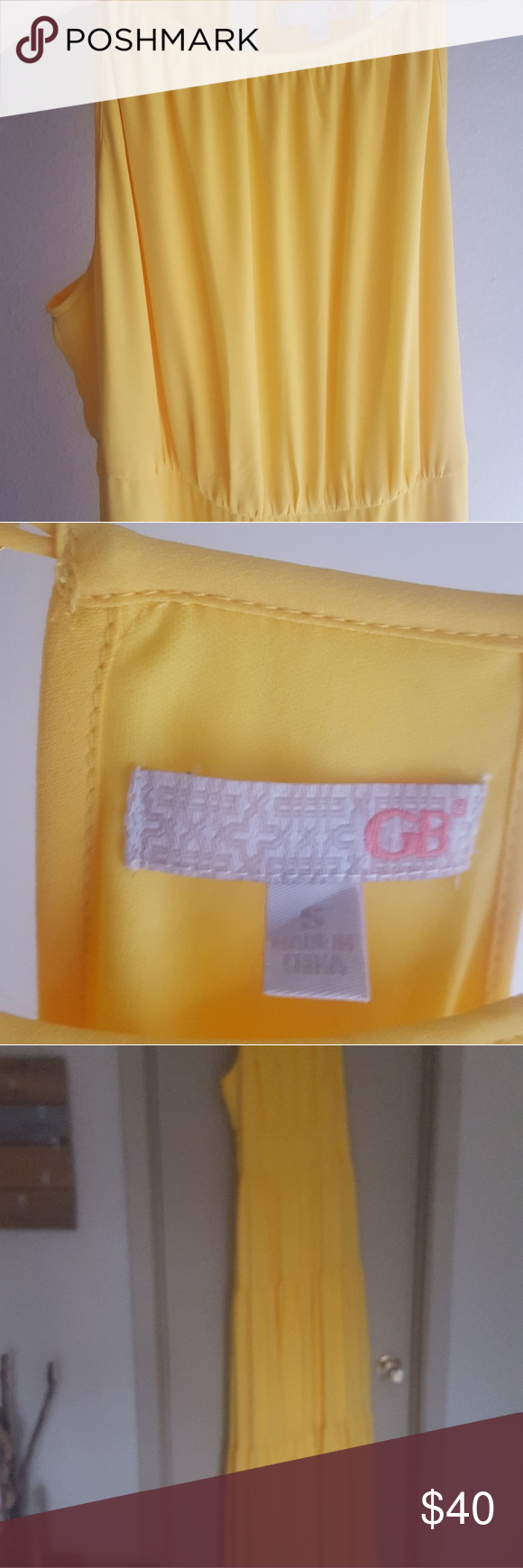 Yellow dress like belle  Giani Bernini floor length yellow dress  My Posh Picks  Pinterest