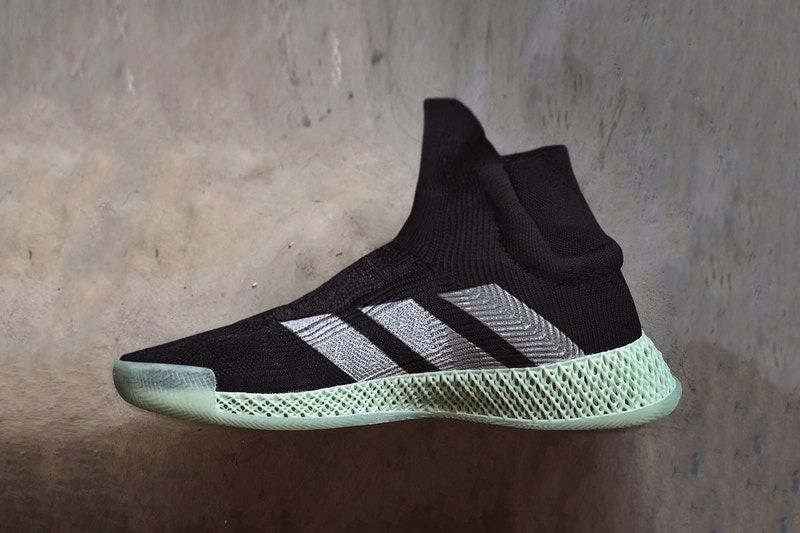 newest 35bdc 32fc9 Another Look at the adidas FUTURECRAFT 4D Laceless Basketbal