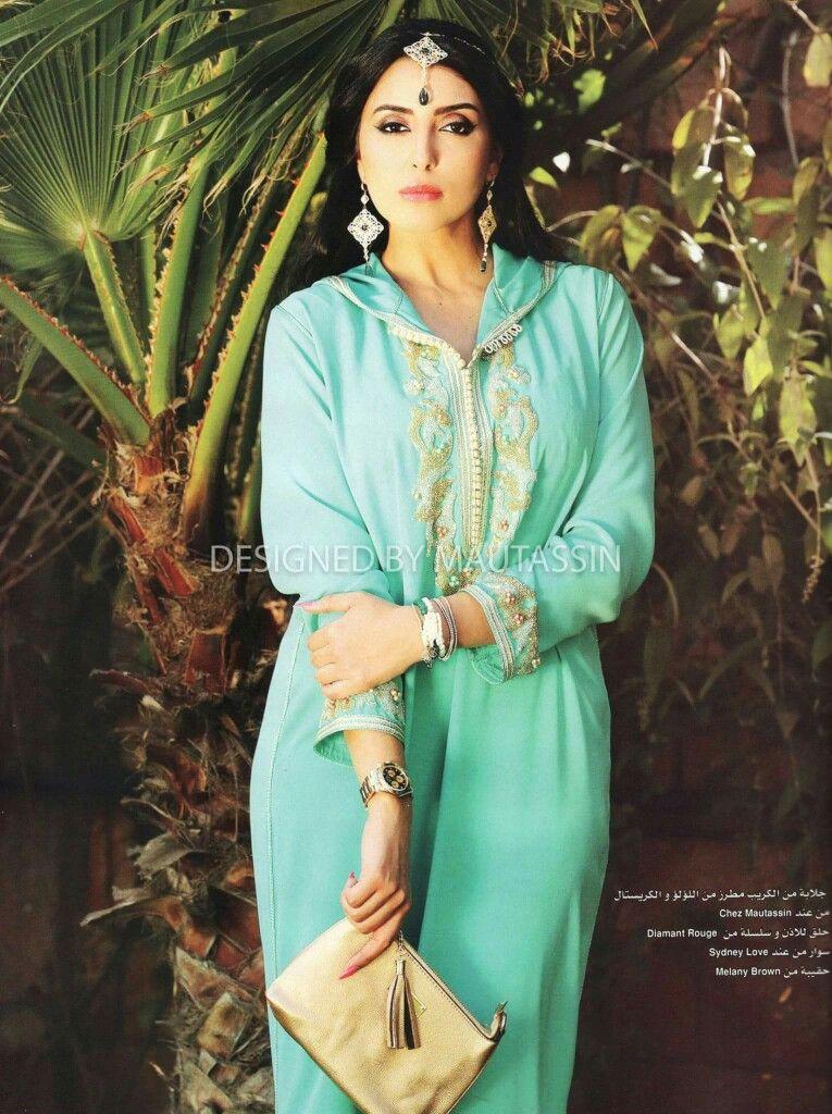 1a09067151 As Sport Chic, Arabic Dress, Morocco Casablanca, Kaftan Abaya, Moroccan  Caftan,