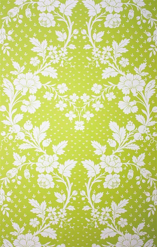 Englische Tapeten englische tapete blumen grün weiss pavillon louisiane wallpapers