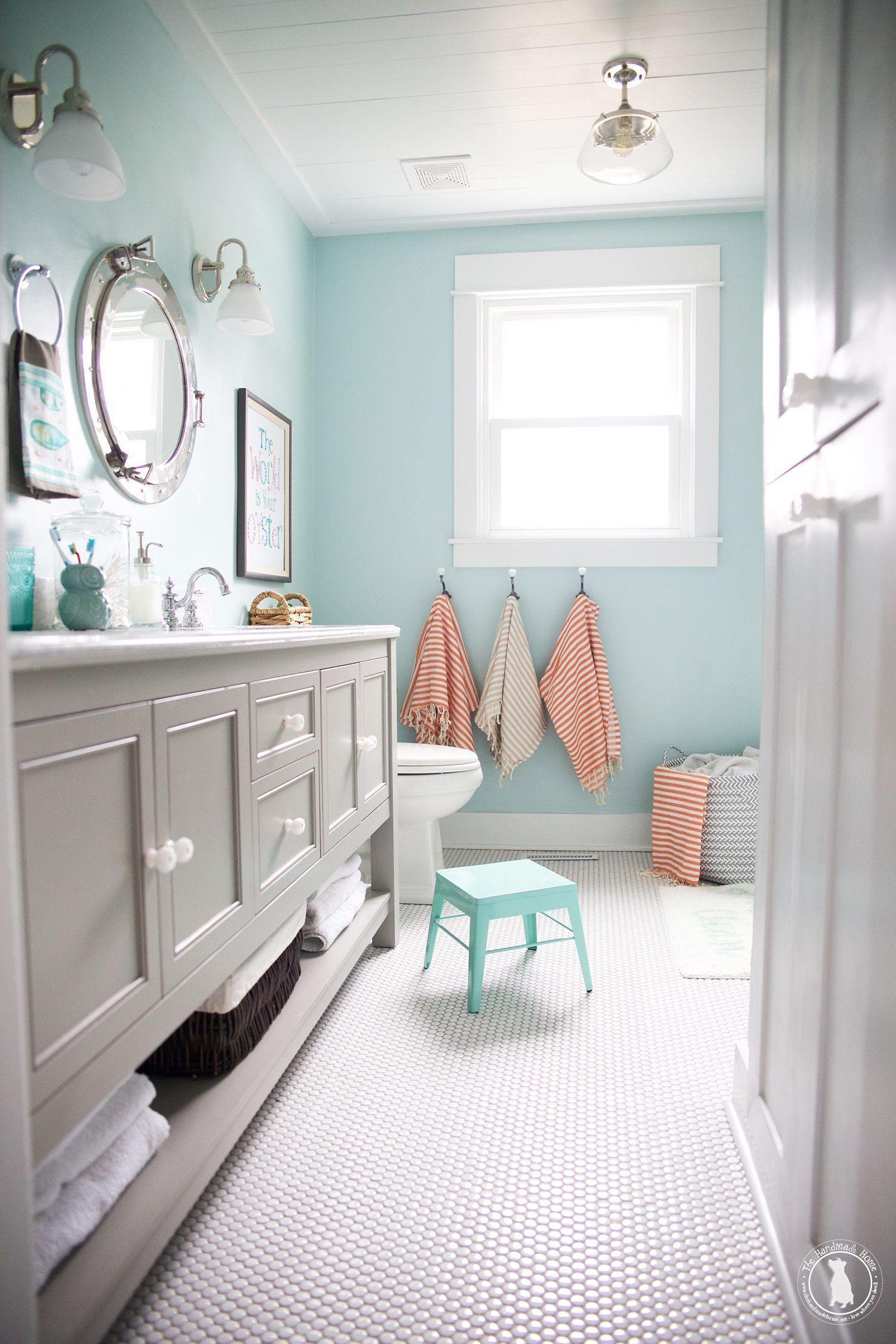 Kinder Badezimmer Quellen The Handmade Home Badezimmer Handmade