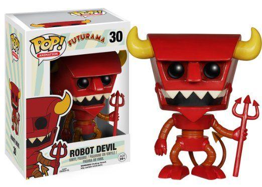 Amazon.com: Funko POP TV: Futurama - Robot Devil Action Figure: Toys & Games