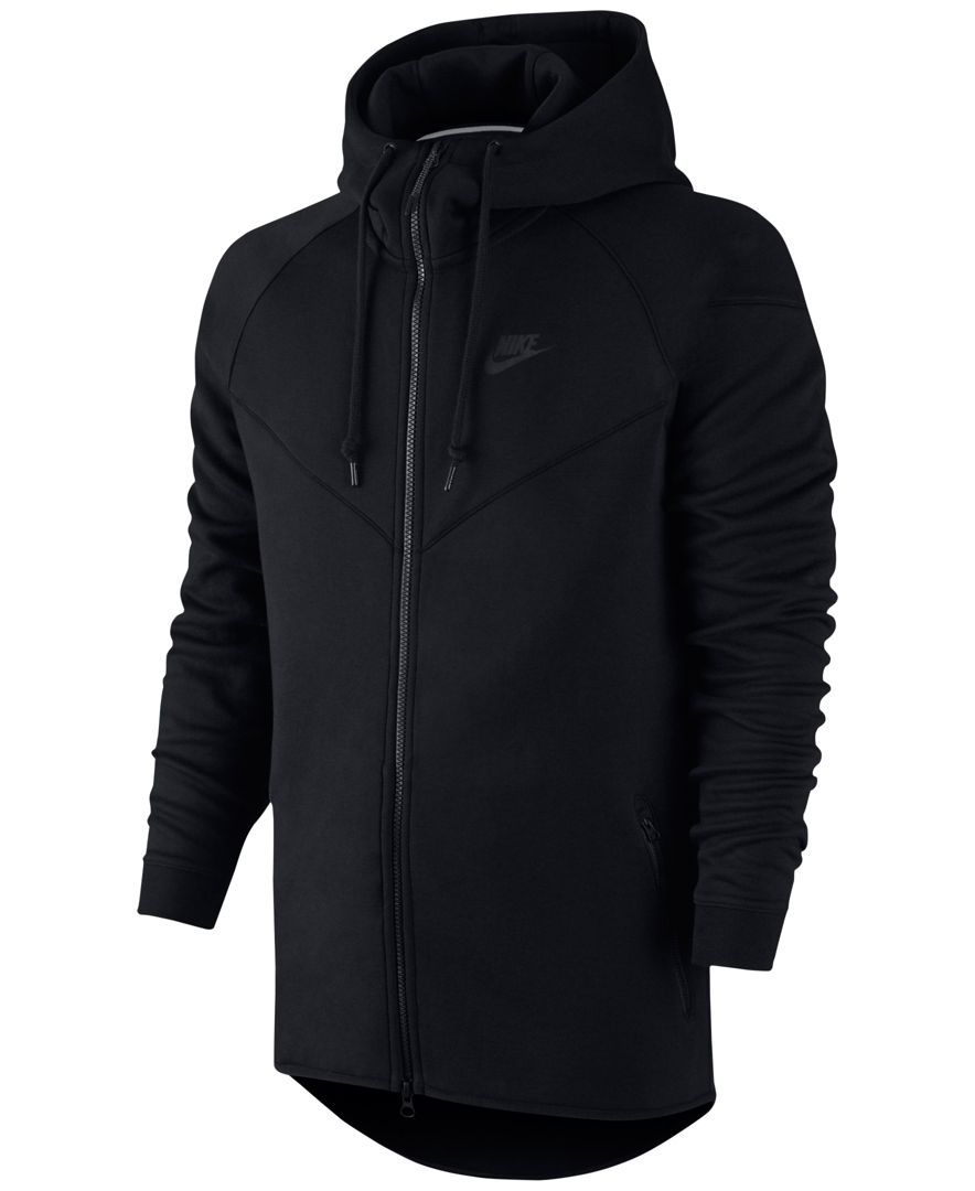 Nike Windrunner Fleece Performance Full-Zip Hoodie - Hoodies ...