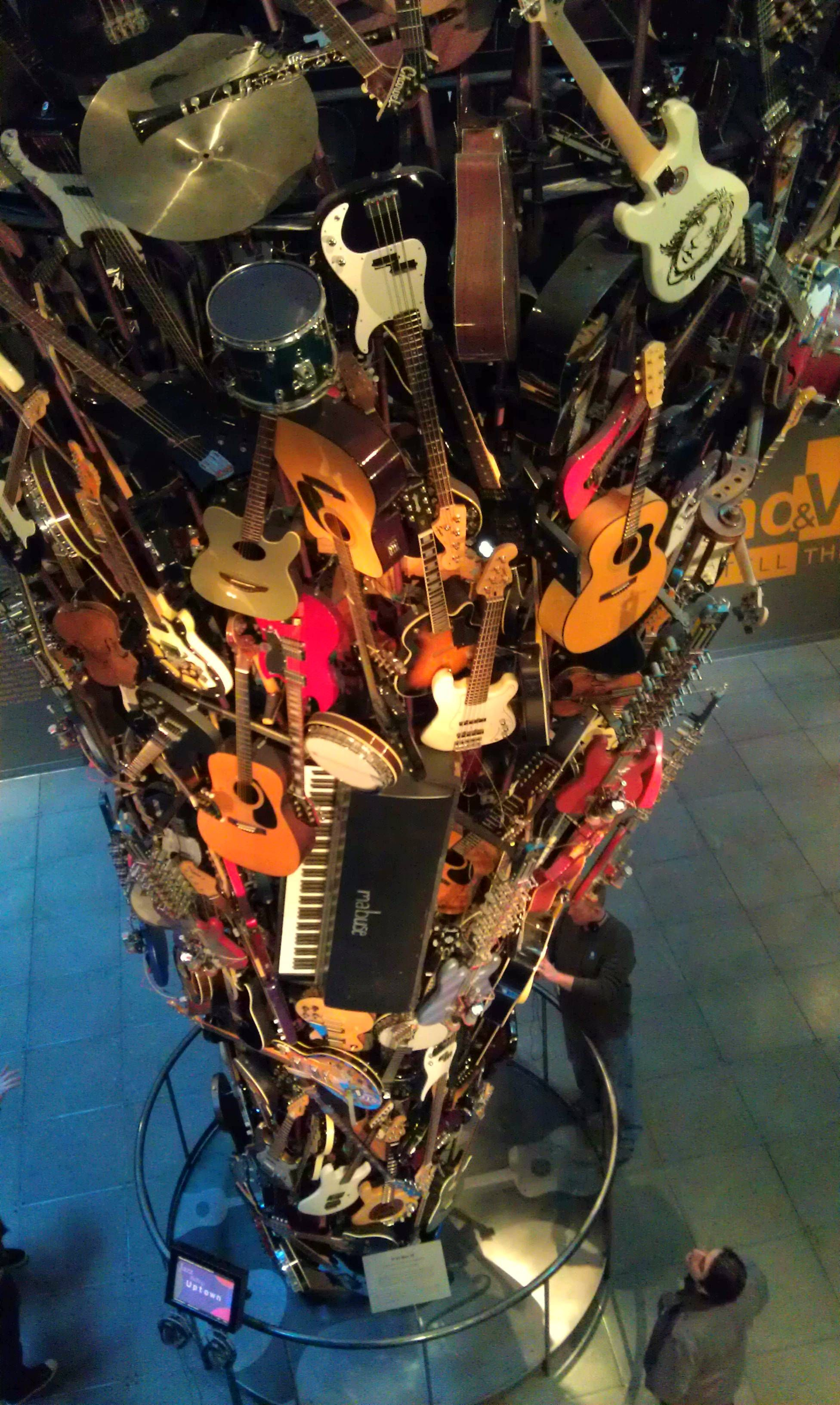 emp guitar tower Instruments art, Art, Pacific northwest