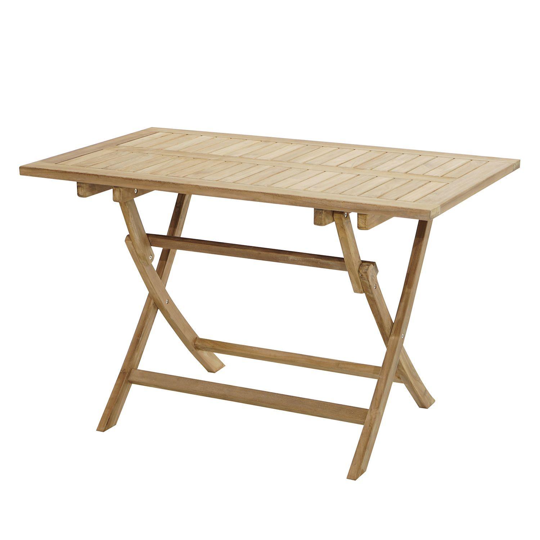 Gartenklapptisch York Ii Gartentisch Holz Klappbar Klappbarer