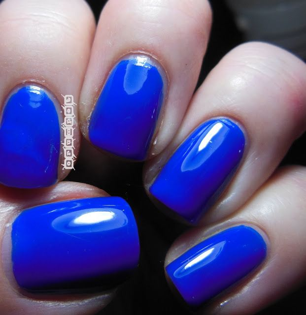 Crumpet Reviews - Barry M Summer Gelly Polishes Blue Grape