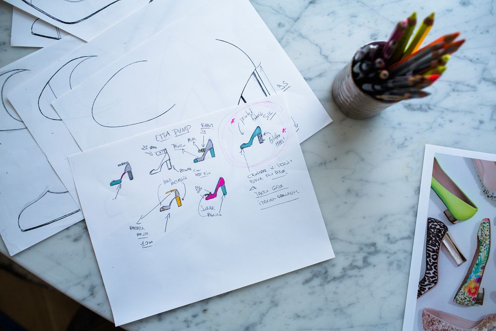 Design sketches. #myshoestory