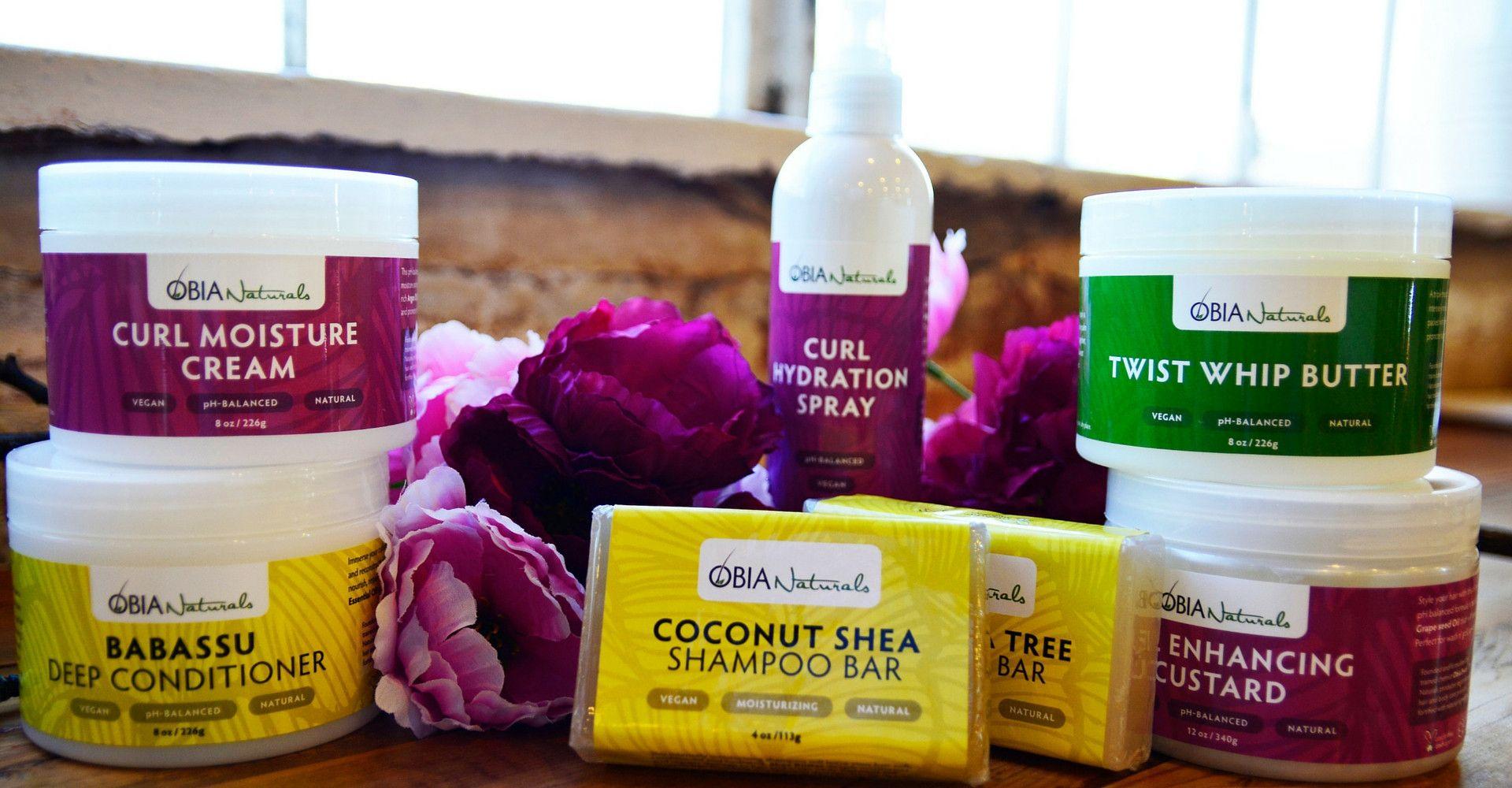 Obia Naturals Vegan Natural Hair Care Products Ph Balanced